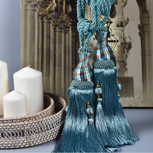 Curtain hanging ball tassel decoration various colors