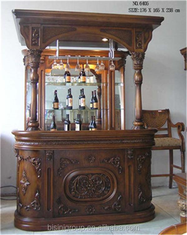 Victoria antika oyma tarz bar mobilya ah ap ev bar pub - Barra de bar en casa ...