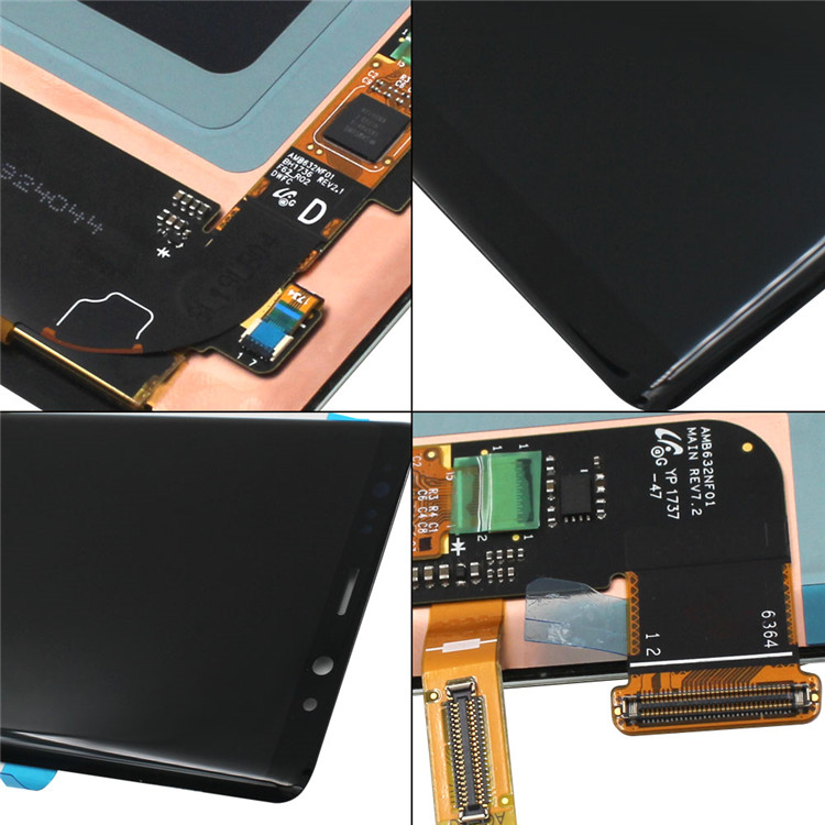 Leading-factrory manufacturing for Samsung galaxy note 8, LCD and digitizer with good warranty