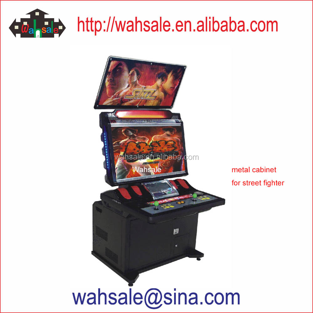 coin operated Street fighter IV Ultra street fighter game machine