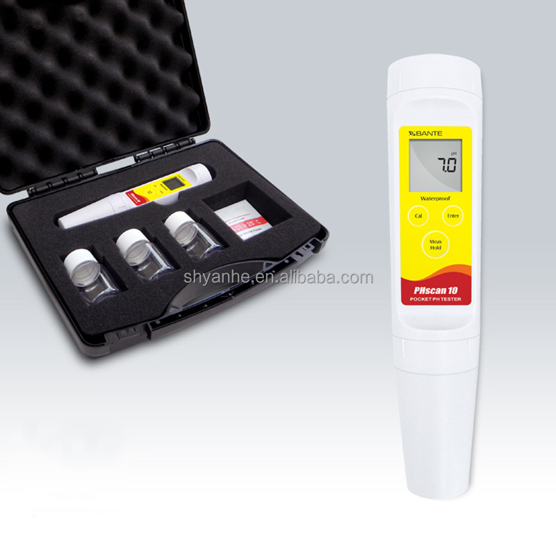 LCD Display Pocket Saliva/ Urine pH Meter