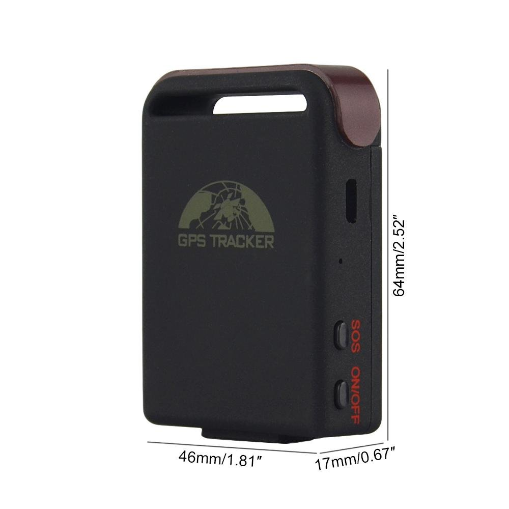 GPSZEN Mini Portable Real Time GPS Tracker - Global SIM, track anywhere, No activation or cancellation fees, No contracts. Perfect for tracking people, vehicles, boats