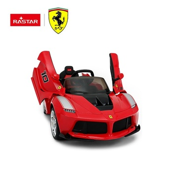 RASTAR Ferrari licensed battery kids ride on electric car 12v