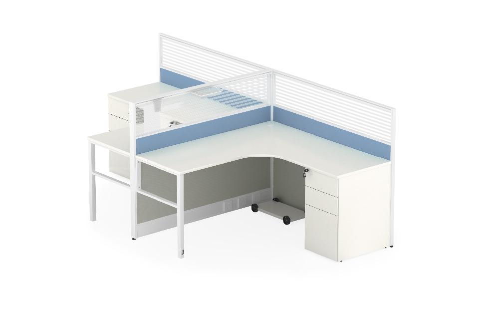 Moderne style bureau poste de travail modulaire cloison de bureau