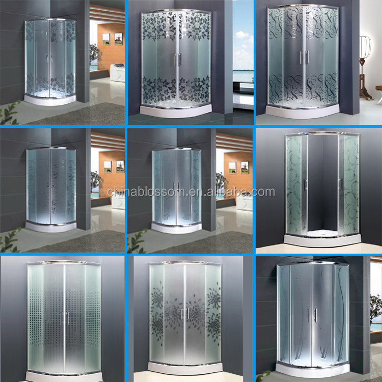 Cheap Glass Bath Shower Cubicle Enclosed Shower Cabin Price - Buy ...