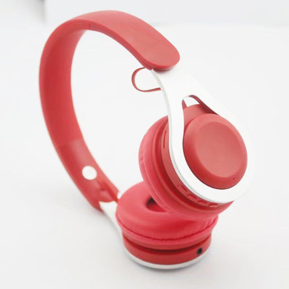 newest custom bluetooth wireless TF FM mode glowing headphones