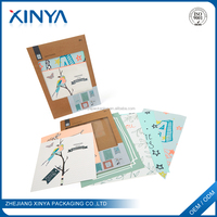 XINYA China Cheap Goods Recycled Hard Cardboard Brown Letter Envelopes With Writing Paper