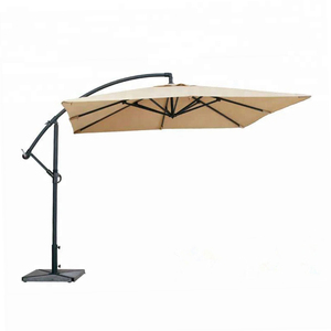 2.5m outdoor rain sun square umbrella