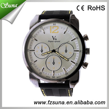Birthday Gifts For Men Super Speed Big Dial Quart Movement Luxury Cool Mens Watches
