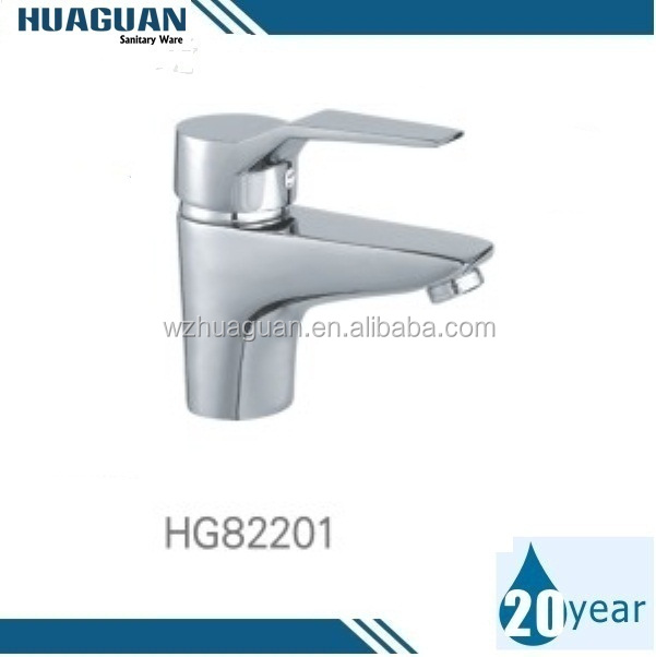 Brass Body Single Handle Hot & Cold Water Basin mixer From Factory