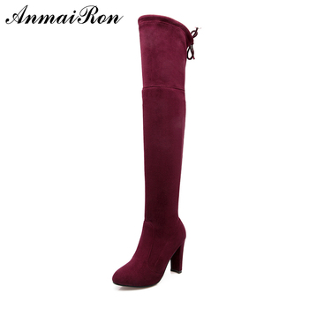 61d219c080ef Ladies Thigh High Boots Factory Price Knee High Women Boots - Buy ...