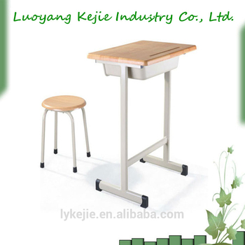 Cheap School Student Desk And Chair Manufacturer Steel