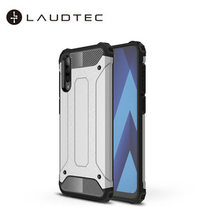Laudtec Hard Cover Soft TPU Hybrid Armor Case For Samsung Galaxy A50