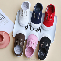 New south Korean version of the children's canvas shoes in spring 2018.