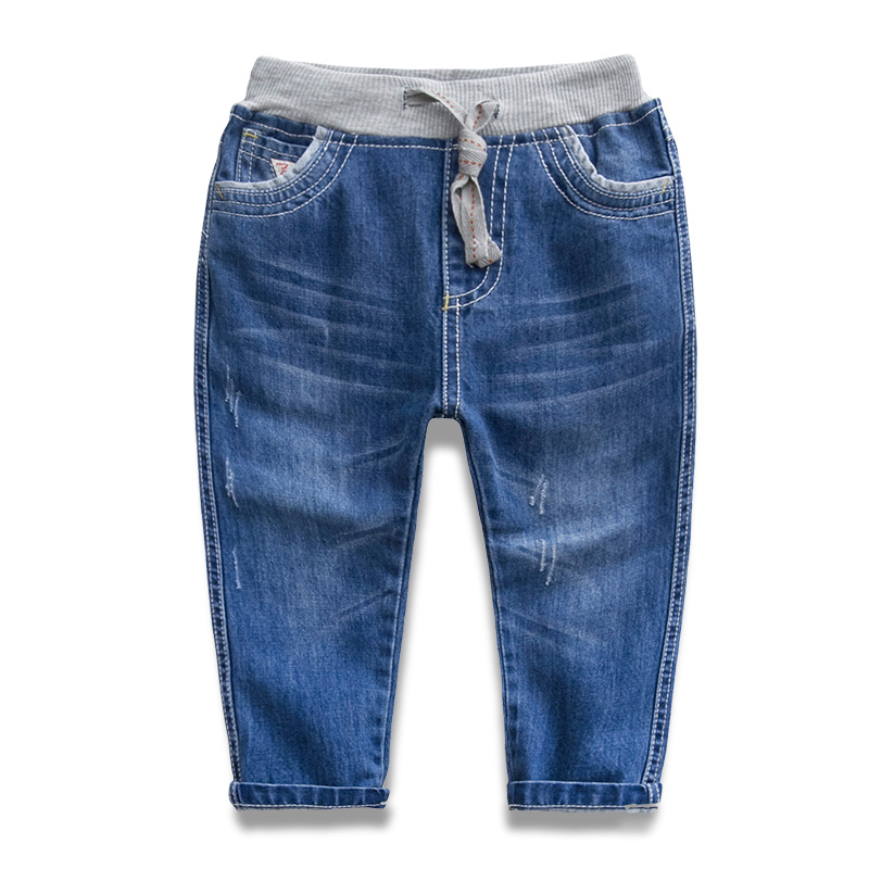 Male child jeans 2015 autumn spring and autumn children's clothing baby female child casual pants trousers