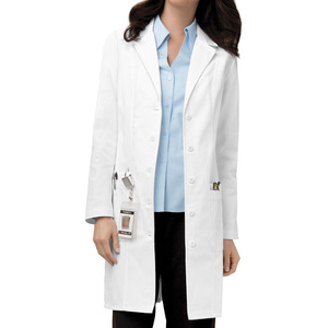 Factory Supply clear plastic lab coat