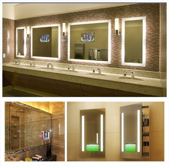 Lighted Electric Mirror Loft Bathroom TV