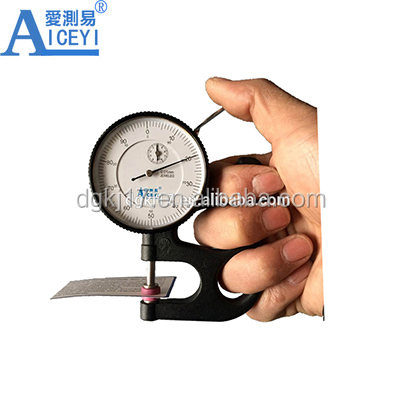 0-10mm High Precision Dial Thickness Gauge Meter Tester