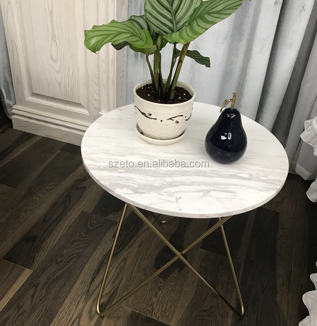 Charmant SF011 Room Decorative Coffee Table Top Round Marble Slab Table Top