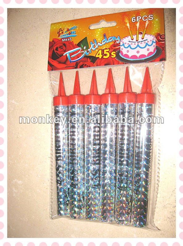 Chinese Birthday Candle Fire Works
