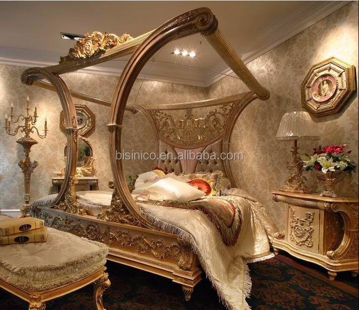 Barroco Francés Diseño De Madera Muebles De Dormitorio King Size ...
