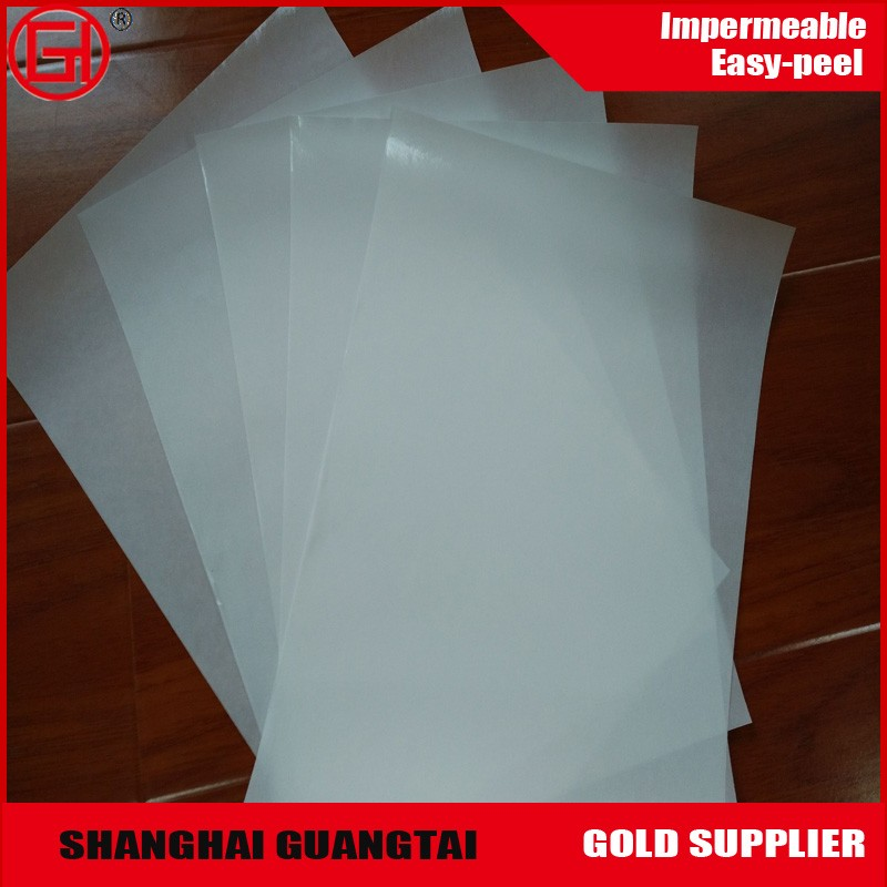 Good price 80 gsm double side silicone coated glassine release paper