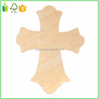 Wood Wall Cross Hand Carved Handmade Crafted Art Decor
