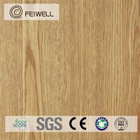 Commercial high quality Click lock wood look vinyl flooring