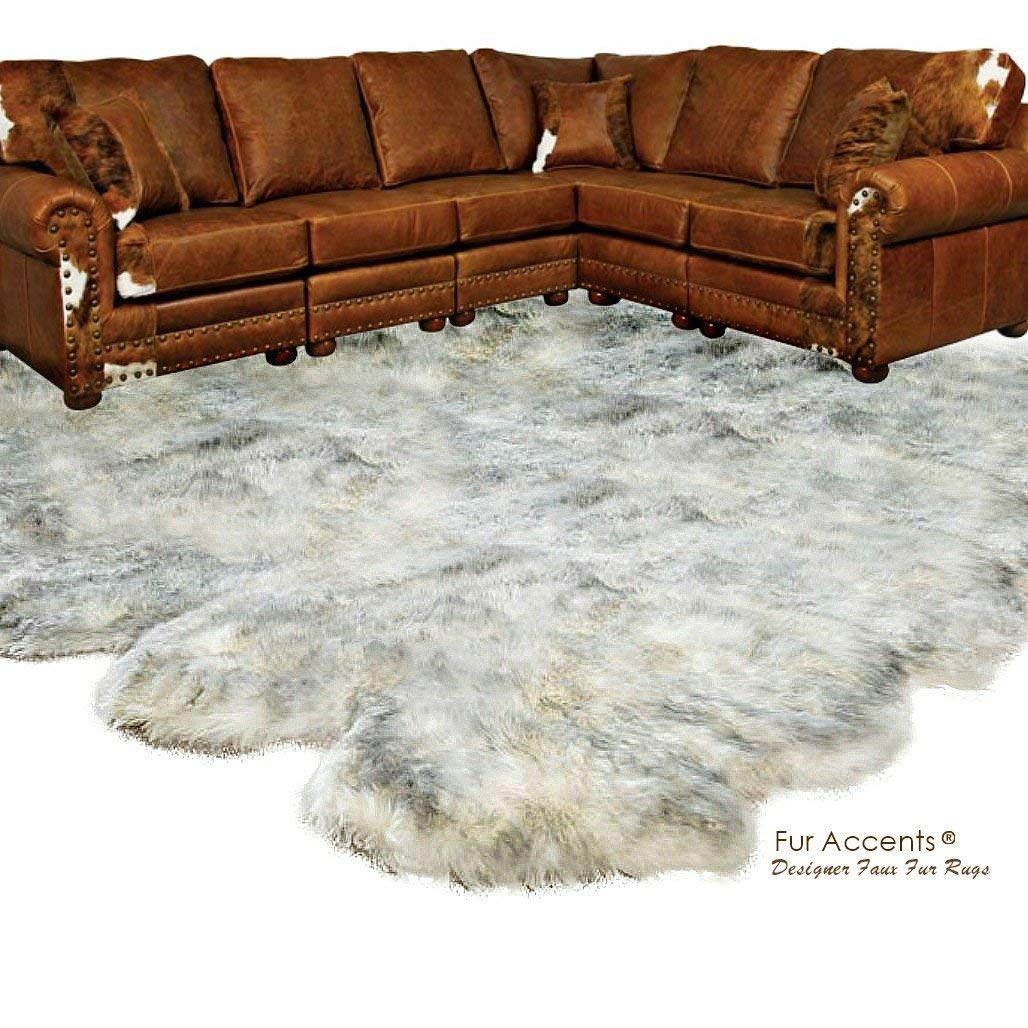 Buy Fur Accents Shaggy Faux Fur Area Rug Random Shape Bear
