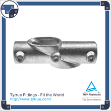 Pipe Clamp Fittings Malleable Iron 130 Adjustable Cross 30-45 Degree