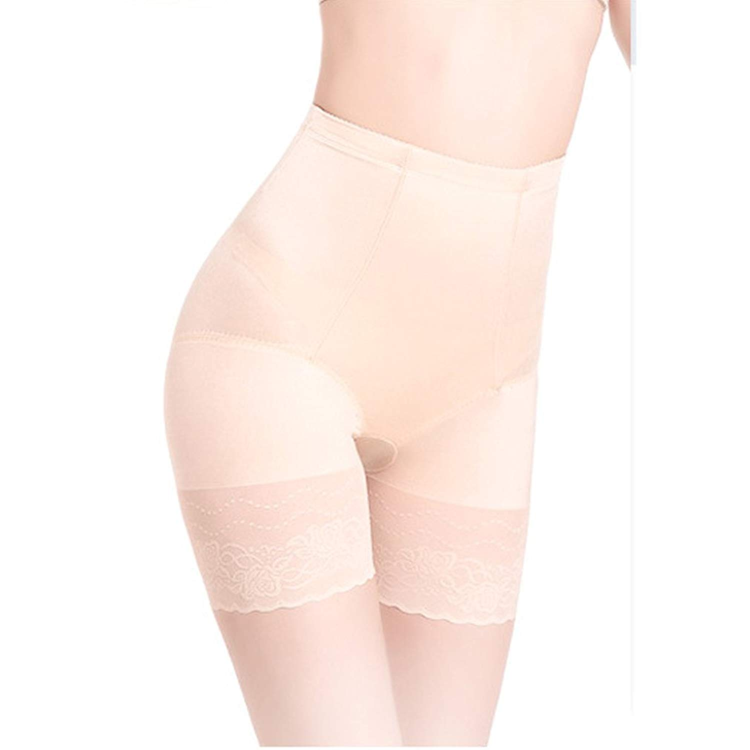 148730446e4 Andy Pansy Women Mid-Waist Control Panties Boyshorts Lace Butt Lifter  Postpartum Underwear