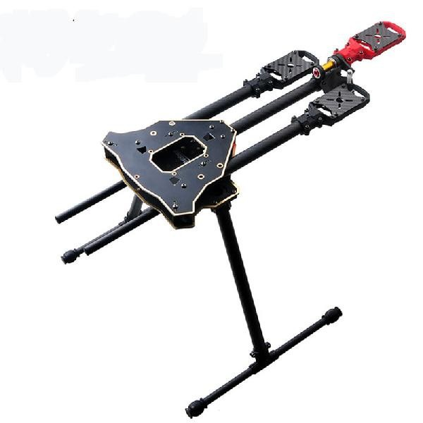HMF Y600 3-axle Tricopter Multi-rotor Frame Kit support KK, MWC, APM flight controller easier for installation