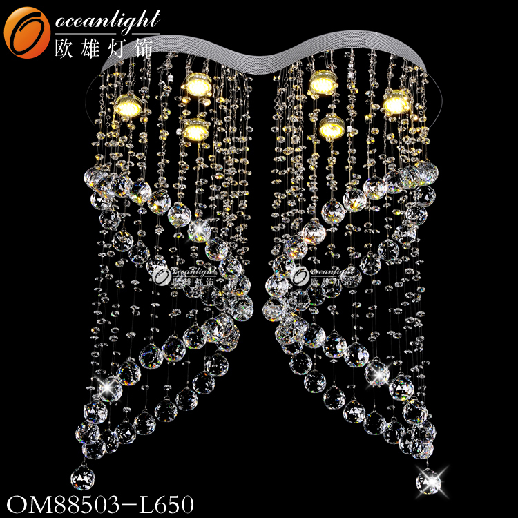 Crystal Ceiling light crystal chandeliers in china chandelier crystal OM88503W