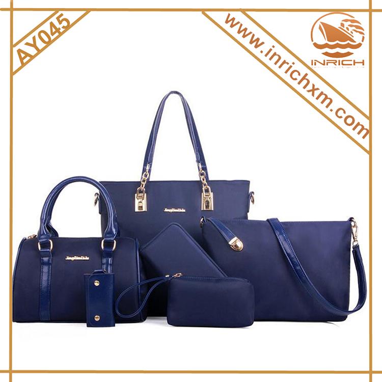 31db88e179b8 Новое прибытие сумки набор 6 шт. в 1 компл. новый стиль женская сумка набор