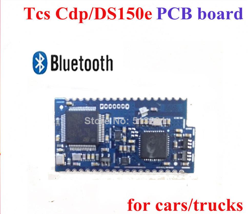 Tcs сканер cdp профессиональное bluetooth печатная плата доска большой + для cdp / ds150e поддержка для автомобили грузовики