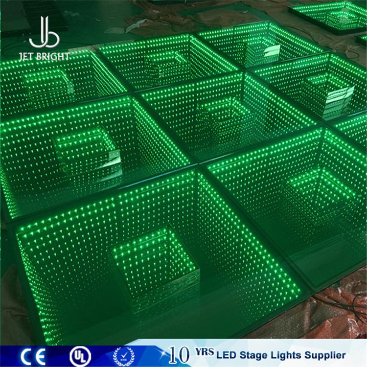 1x1m Infinity Mirror 3d Led Light Illusion Ground - Buy Infinity ...