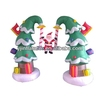 hot sale advertising decoration inflatable christmas tree