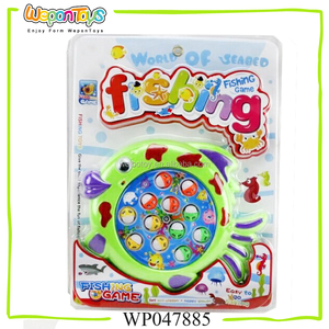 electronic fishing game toy for sale fishing game with music and light plastic game fishing
