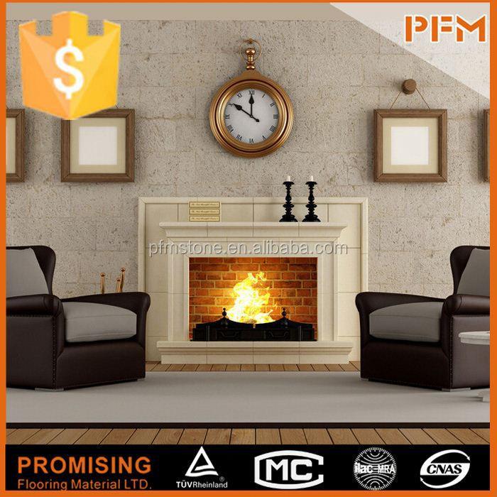 Pfm chino marmol y travertino chimenea chimenea de gas Fabricantes de fabricación, proveedores, exportadores, mayoristas