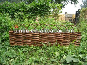 Etonnant Garden Willow Border Edging   Buy Garden Border Fence Edging,Decorative  Garden Borders,Garden Wood Borders Product On Alibaba.com