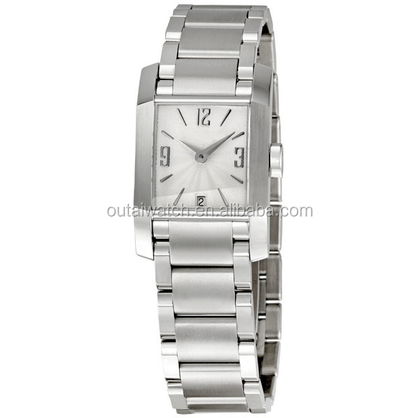 stainless steel womans bracelet watch with your logo