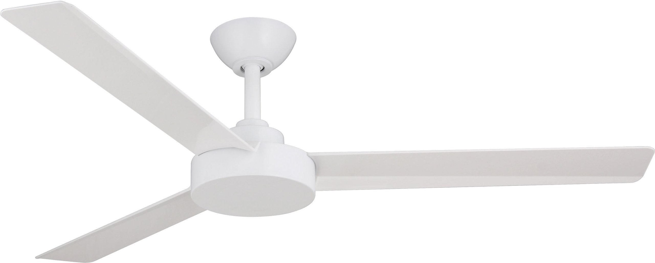 """Minka-Aire F524-WHF Roto 52"""" Ceiling Fan with Wall Control, Flat White"""
