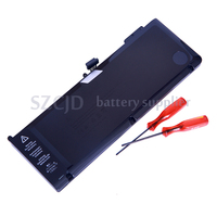 high quality A1321 lithium polymer rechargeable battery for macbook pro 15'' A1286 2010