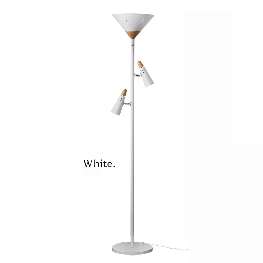 Modern Art Unique White Fancy Floor Lamp Modern
