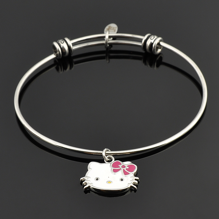 New Arrive Handmade Stainless Steel Women Bangle Festival Bracelet