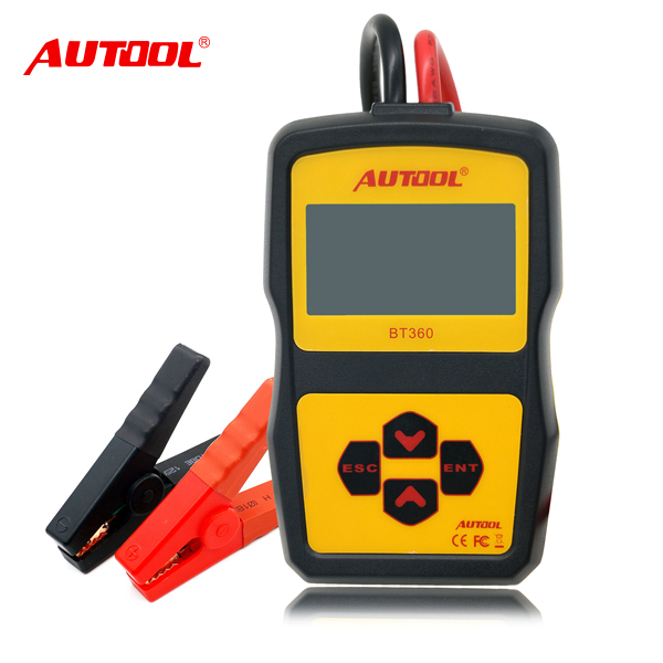 12v CCA Auto Battery System Tester with BT360 Multi-Language usege for Vehicle cranking system test or Checking system