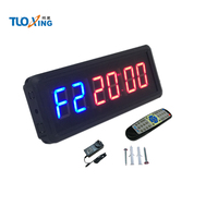 Hot sale 1.5 inch 6 digit LED electric programmable timer switch