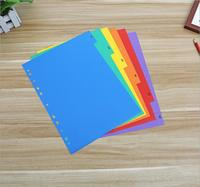 A4 size index card file folders, Tab Folder,6 Dividers,12 Dividers, 6/pack,12/pack