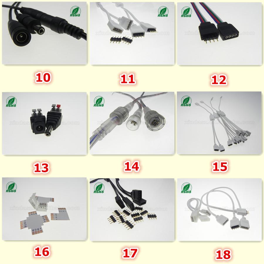 Rgb Led 4 Pin Header Connector - Buy Rgb Led Connector,Led Strip Light  Connector,5050 Led Strip Connector Product on Alibaba com