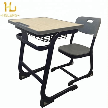 Modern School Furniture Student Single Desk And Chair Set For Sale   Buy  Modern School Furniture,School Desk And Chair,Classroom Furniture Product  On ...